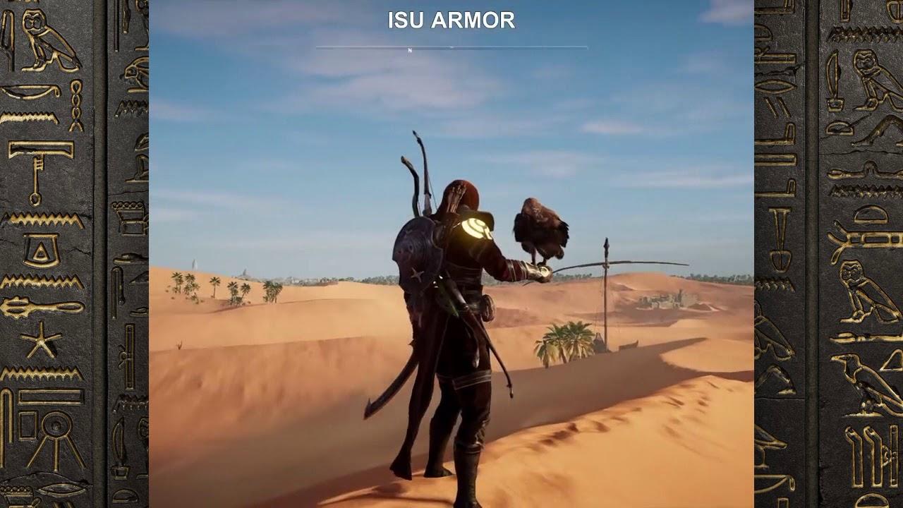 Assassinu0026#39;s Creed Origins Outfits  ISU ARMOR - YouTube