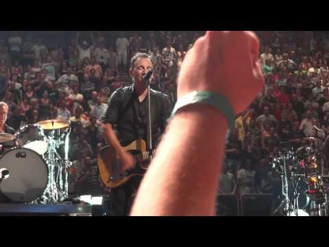 "Bruce Springsteen ""Born in the usa + Born to run + Bobby Jean"" @ Paris Bercy 1, July 04 2012"