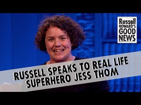 Russell speaks to real life hero Jess Thom