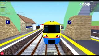 ROBLOX:Mind the Gap, Overground ride from Herrington to Baker Street