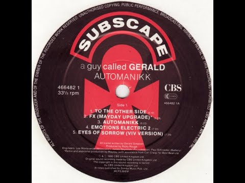 A GUY CALLED GERALD - TO THE OTHER SIDE  1990