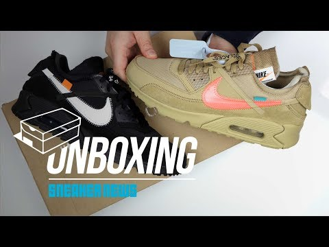 Off White Air Max 90 Unboxing + Review