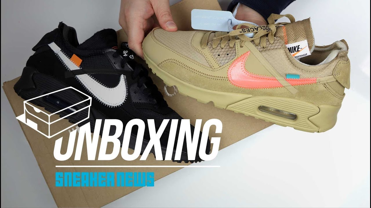 timeless design e550d 5405f Off-White Nike Air Max 90 Desert Ore AA7293-200 ...