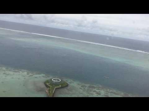 Tahiti, French Polynesia - Takeoff from Fa'a'ā International Airport HD (2017)