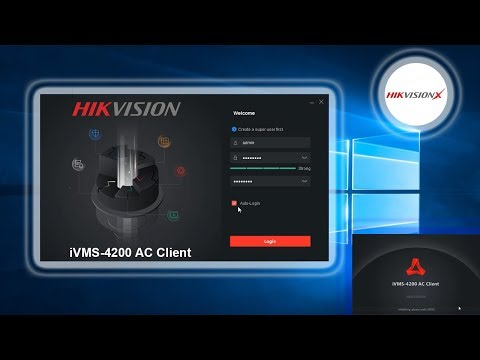 New IVMS 4200 AC Client HIKVISION