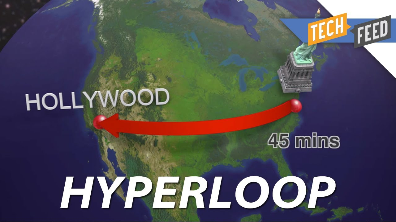 From SF to NY in Under An Hour Elon Musks Hyperloop YouTube