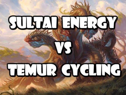 Sultai Energy VS Temur Cycling -Standard Showdown 7/10/17  Round 1-