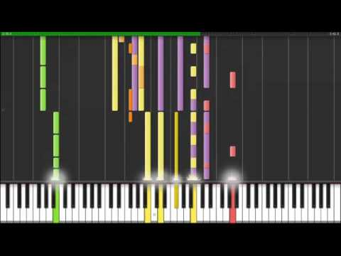 Synthesia Gorillaz On Melancholy Hill Piano Youtube