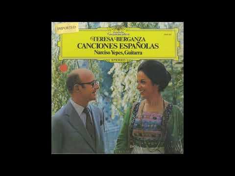 Silent Tone Record/中世・ルネッサンス期のスペイン歌曲集/ナルバエス,ピサドール/テレサ・ベルガンサ、ナルシソ・イエペス/クラシックLP専門店サイレント・トーン・レコード