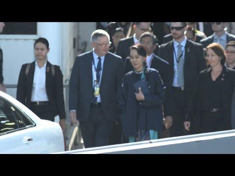Myanmar's Suu Kyi 'unwell', scraps Australia public appearance