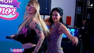 Angie Jibaja y Stephanie Valenzuela la rompen con baile de Yahaira Plasencia