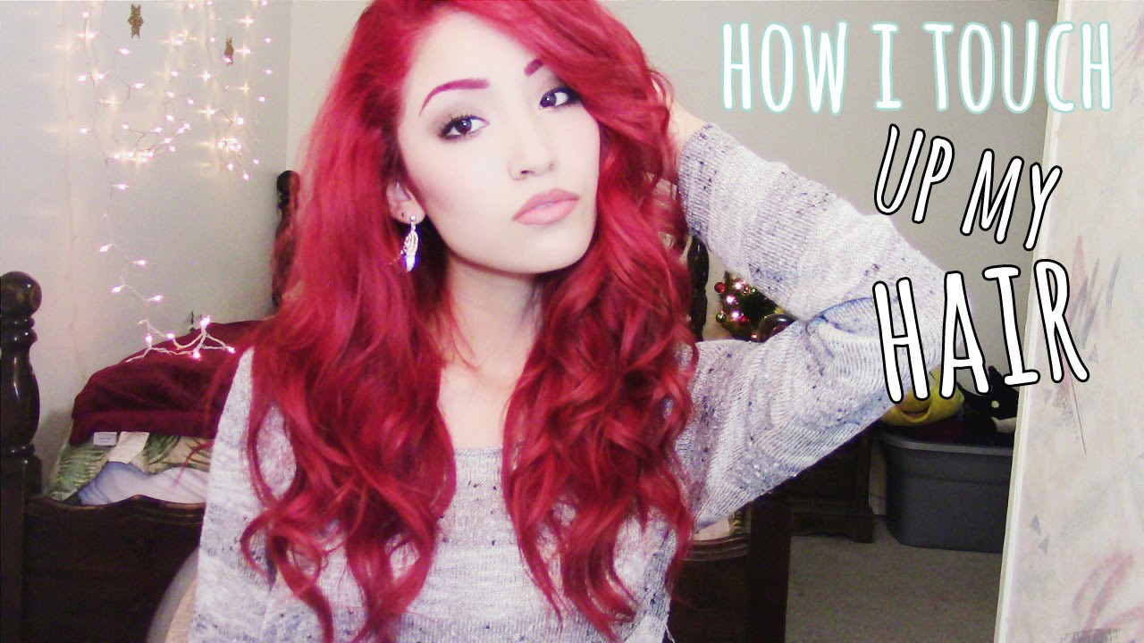 How I Touch Up My Red Hair: Upkeep, Tips, & More!