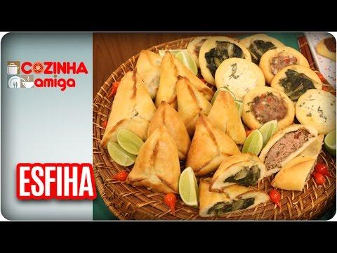 Esfihas - Chef Gabriel Barone | Cozinha Amiga (05/05/17)
