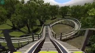 Second Wind (No Limits 2 launched wooden coaster)
