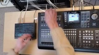 Tascam DP24/32SD Tutorial 4: Dynamic Insert Effects