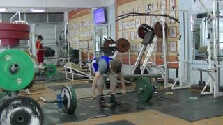 Маклаков Тимур, 13 лет, вк 46 Толчок 59 кг Есть личный рекорд!