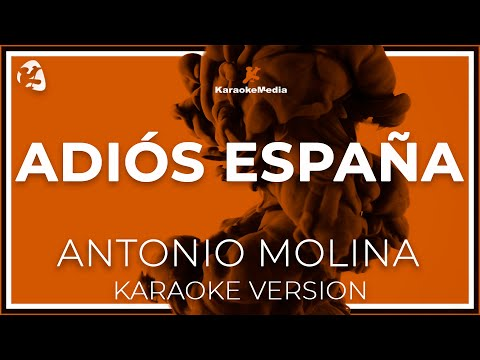 Antonio Molina - Adios España (Karaoke)