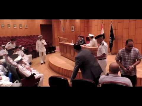 لقاء اللواء / أمين عز الدين - مساعد الوزير لأمن الأسكندرية بالضباط الجدد