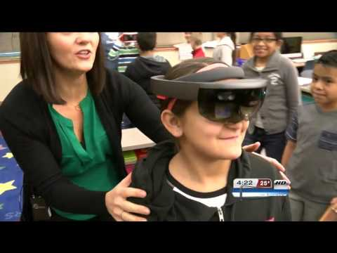 The future of education? Chandler View students learn augmented and virtual reality