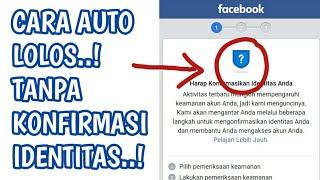 Masuk Facebook Tanpa Mengirim Identitas