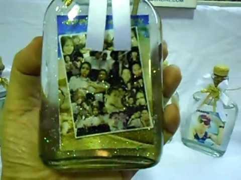 ของขวัญวันเกิด ของขวัญให้แฟน รูปอยู่ในขวดแก้ว ของขวัญสวยๆ