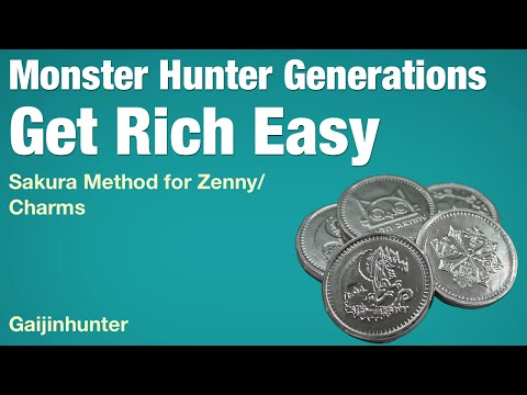 Monster Hunter Generations: Charm Run and Zenny