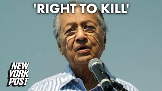 Ex-Malaysia PM: Muslims have right to 'kill millions of French people' | New York Post