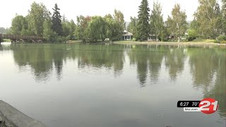 Depleted Wickiup Reservoir to blame for Deschutes River's greenish color