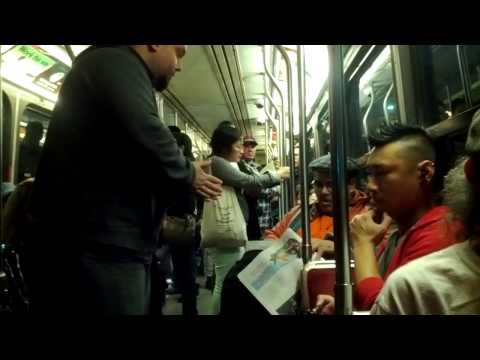 TTC streetcar driver restores order
