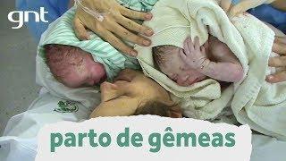 Parto cesárea de gêmeas: papel do pai e da mãe na amamentação | Partos Emocionantes | Boas Vindas