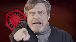 Star Wars Mark Hamill interview - Nazi droid