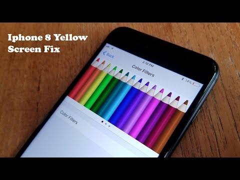 on sale db59a 0d388 Iphone 8 / Iphone 8 Plus Yellow Screen Fix - Fliptroniks.com