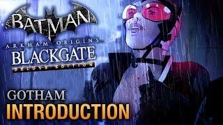 Batman: Arkham Origins Blackgate Walkthrough - Intro - Gotham [Deluxe Edition]