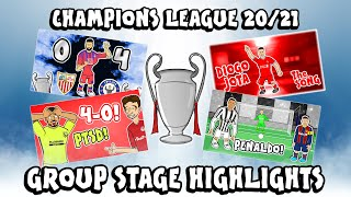 🏆UCL GROUP STAGE HIGHLIGHTS🏆 2019/2020 UEFA Champions League Best Games and Top Goals