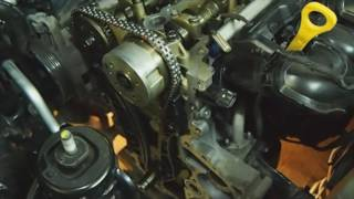 видео Замена ремня и цепи ГРМ Киа . Плановая замена ГРМ Kia , комплекты с помпой