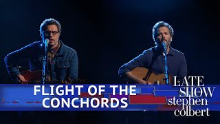 Flight Of The Conchords Perform Father & Son YouTube Videos