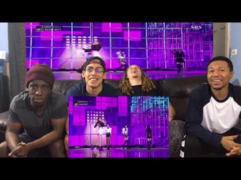 BLACKPINK   'SO HOT' THEBLACKLABEL Remix in 2017 SBS Gayodaejun REACTION!!