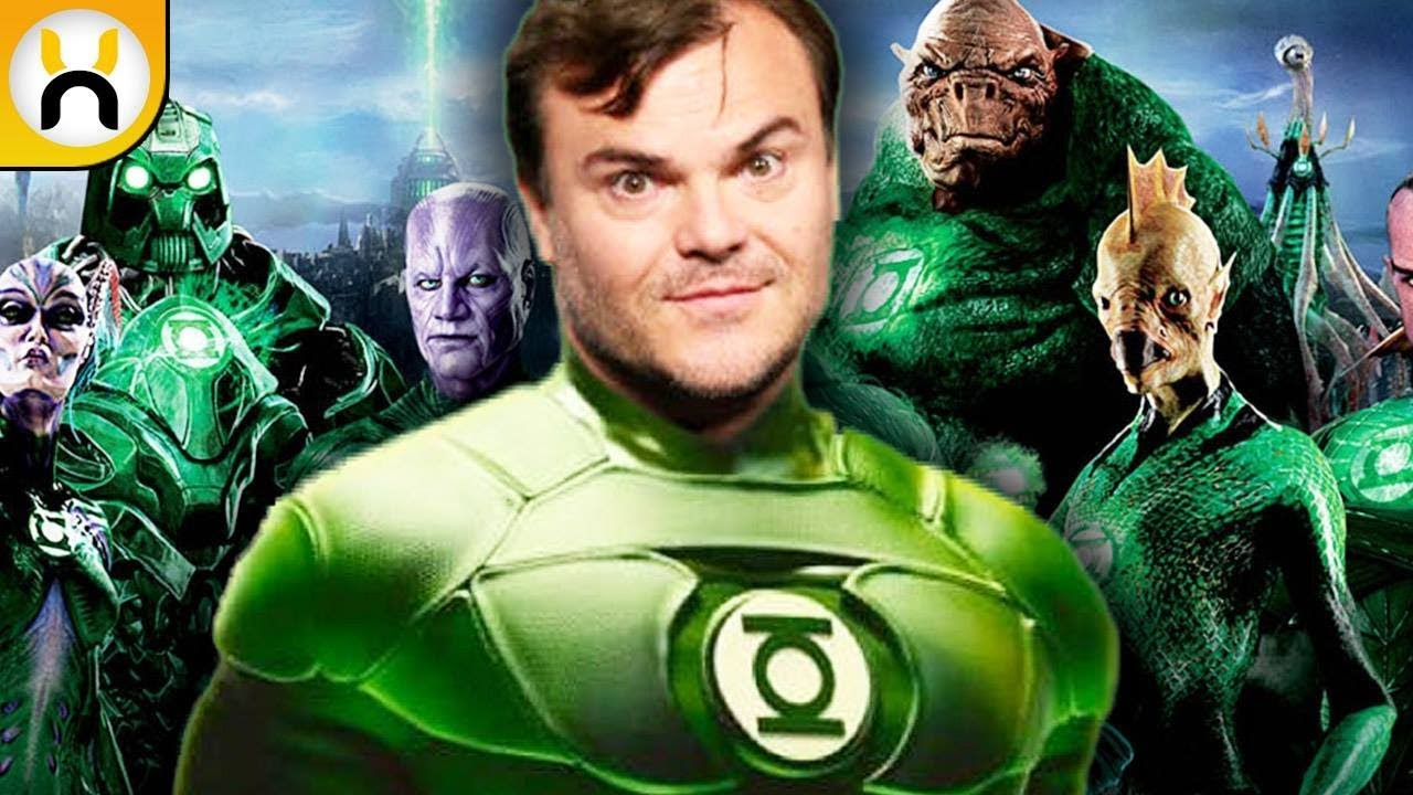 for cancelled Green lantern film'