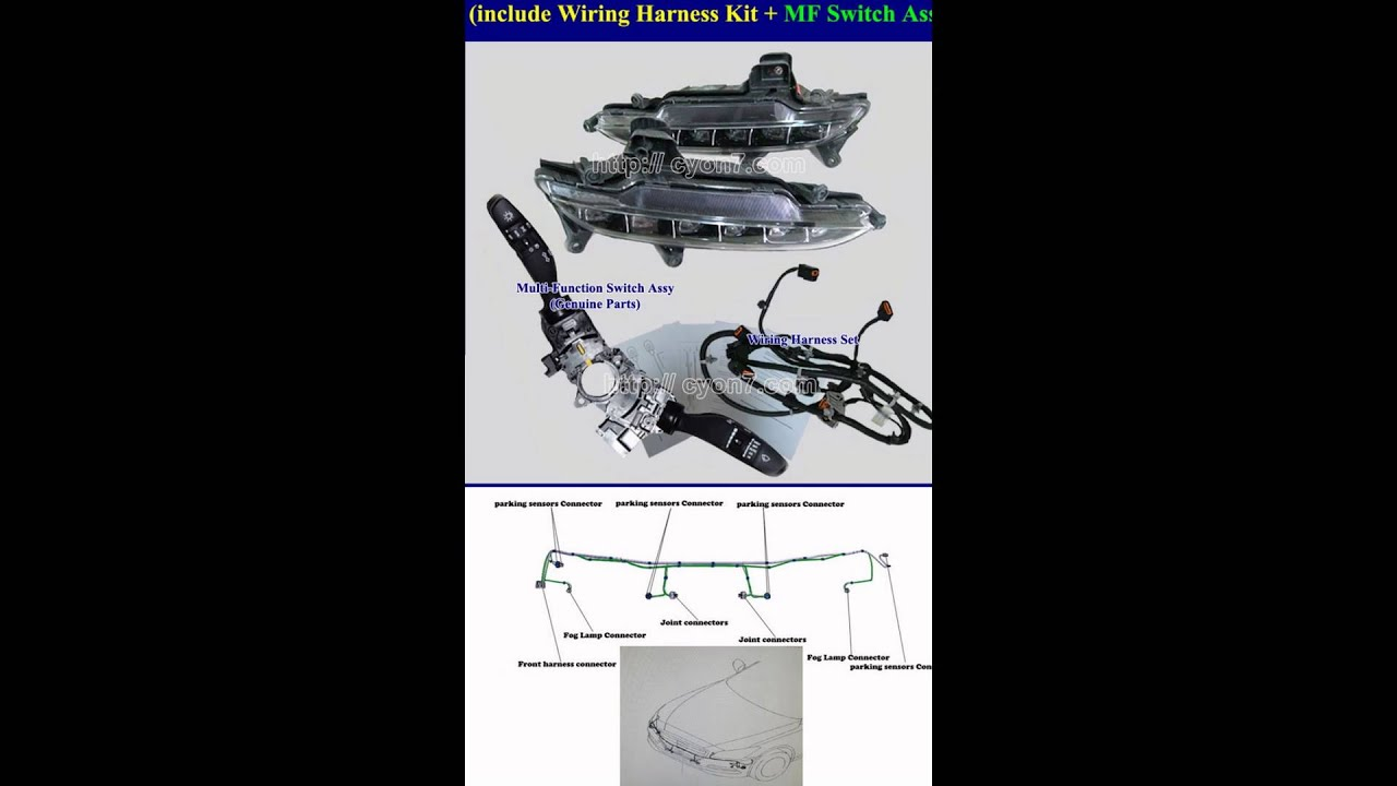 95 Accord Headlights Wiring Harness Get Free Image About Wiring