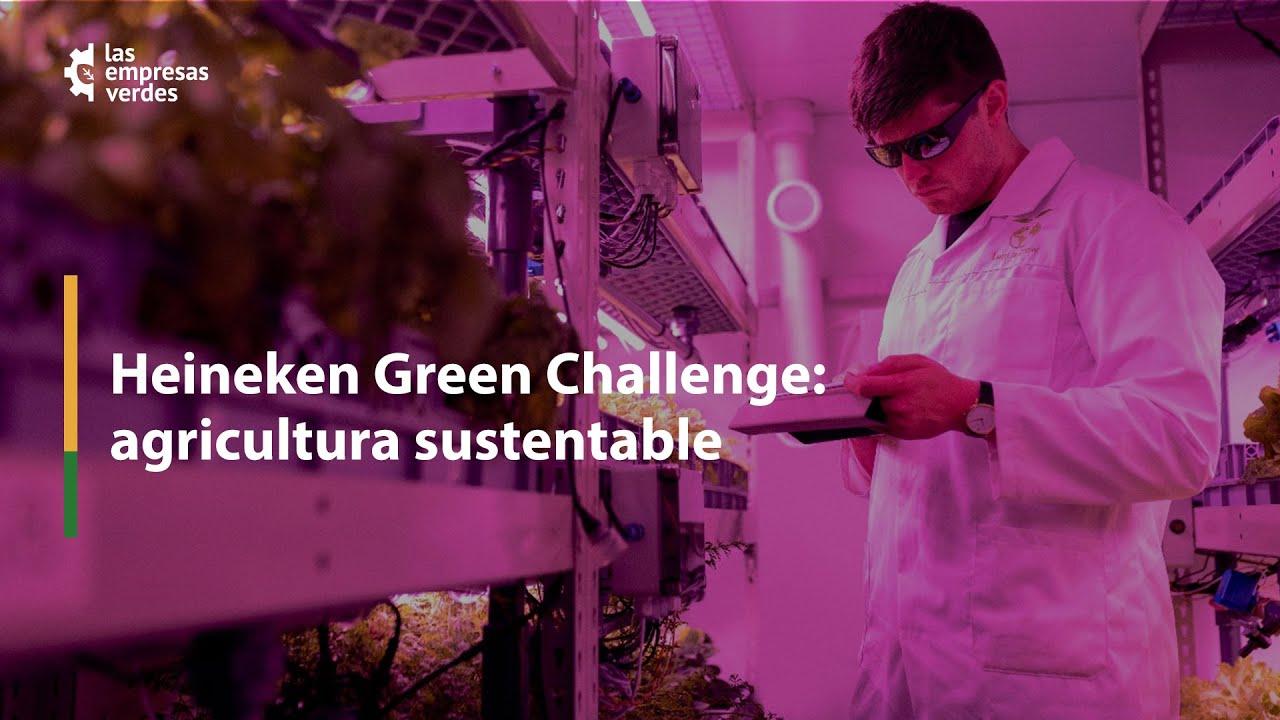 """La cuarta edición del """"HEINEKEN Green Challenge"""", invita a todos los emprendedores sustentables que pueden aportar ideas, tecnologías  e innovación para impulsar el campo mexicano y desarrollar una agricultura sustentable. Si eres emprendedor y te interesa la producción de alimentos, este mensaje es para ti."""