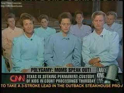 interview with polygamists' wives