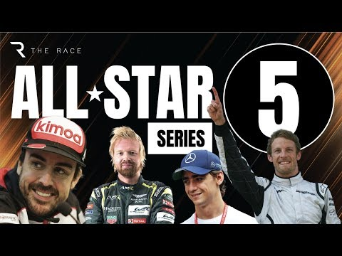 The Race All-Star Series S02E05 - Ft. Fernando Alonso, JP Montoya, Jenson Button,  + LOADS More!