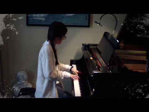"""Catherine Chi, pianist performing """"Romance"""" by Timothy Brown"""