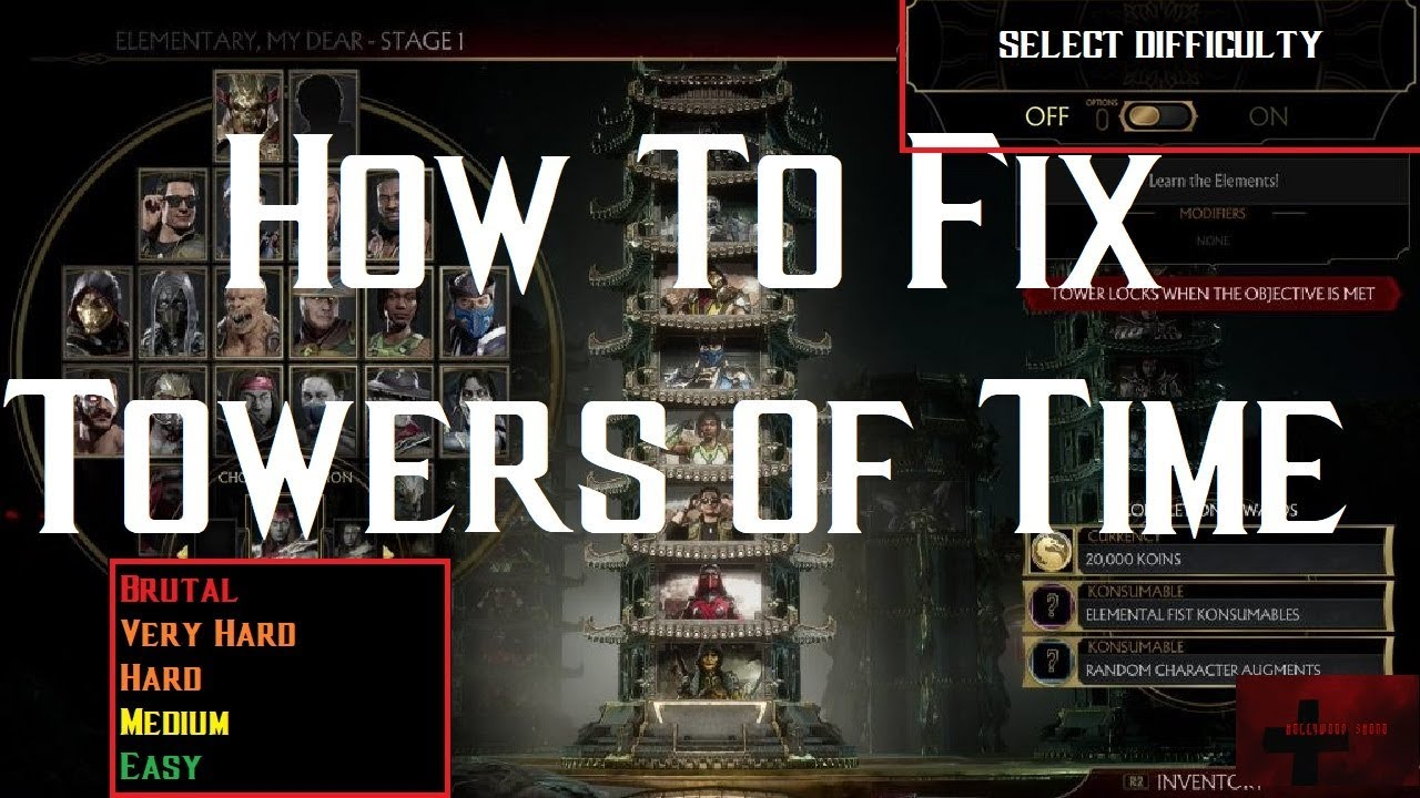 Mortal Kombat 11 - How to Fix Towers of Time