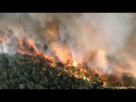Australia Bushfire 2019-20 | Areal View | Informative Video | SAMT Creations.