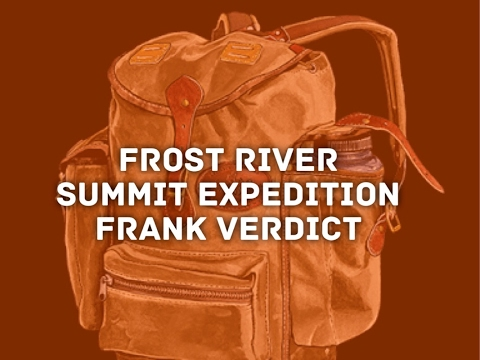 Not For Everyone - Frost River Summit Expedition Duluth Style Pack