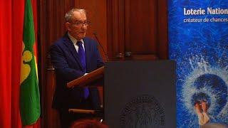 H. Goldberg – Président de la Fondation Auschwitz - 2016-10