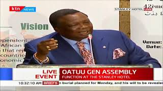 OUATTU Gen Assembly: COTU's Francis Atwoli address