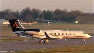 Stunning Gulfstream G550 N310TK at Cambridge Airport