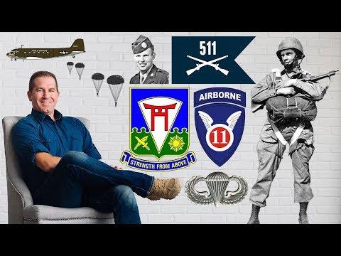 Plane Talk on the 511th Parachute Infantry Regiment, 11th Airborne in World War II